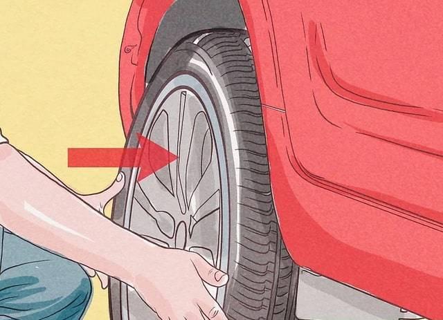 Wymiana koła krok 8 pomoc drogowa anhol