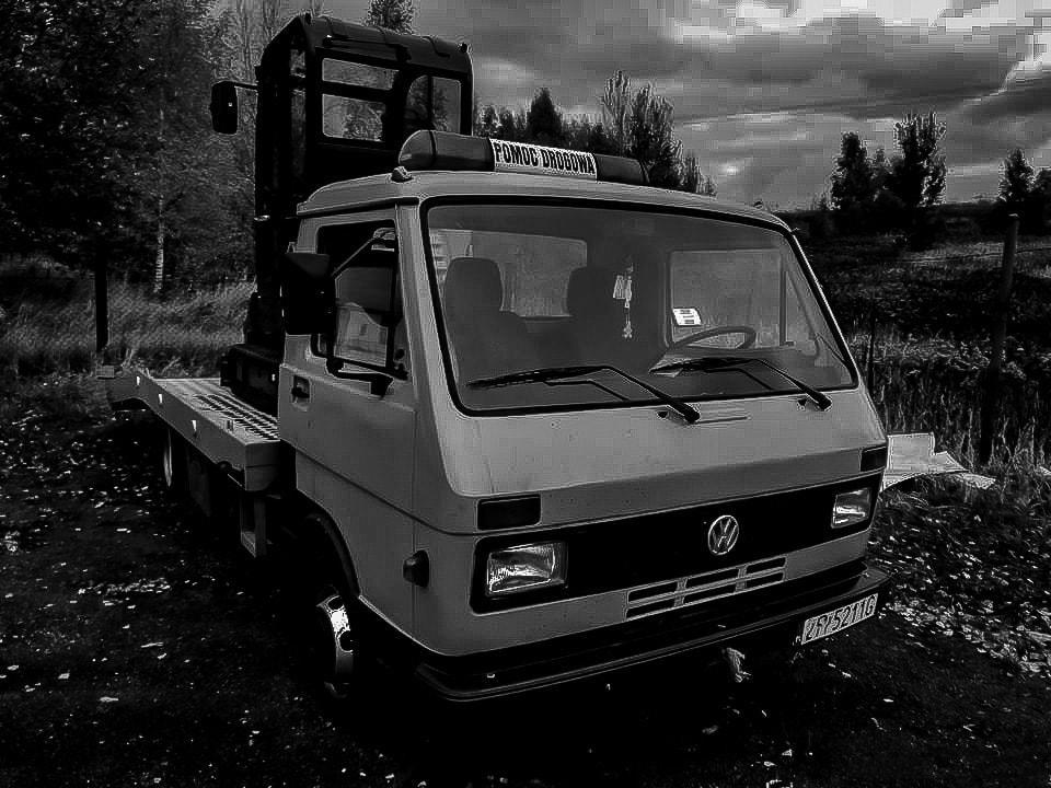 VW LT lata 90 pomoc drogowa Gorzów wielkopolski