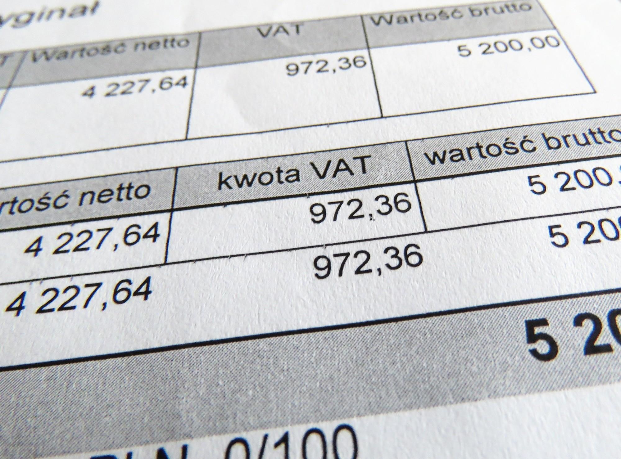 Fot. Tomasz Kawka/East News Katowice 18.08.2017 Faktura VAT