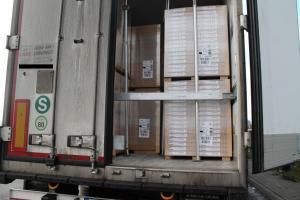 transportierte Möbel